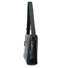 Bugatti- Tocco Messenger Medium Black 36x26,5x11