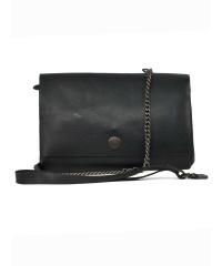 Spikes & Sparrow-Damen-Leather-Clutch 19,5 x 3 x...