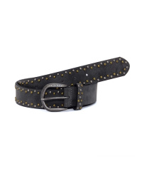 Fritzi-Belt-Tiny-Dots-Black-Damen-Nietengürtel- 37...