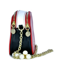 House of Envy-Tres Chic 21x14x8 Black-Red-White