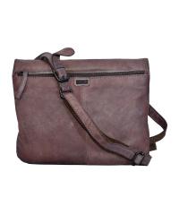 Spikes & Sparrow-Damen-Leather-Cross-Bag 28x21x8-Liver