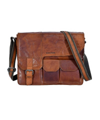Spikes & Sparrow-Mens-Leather-Messenger 36x30x9