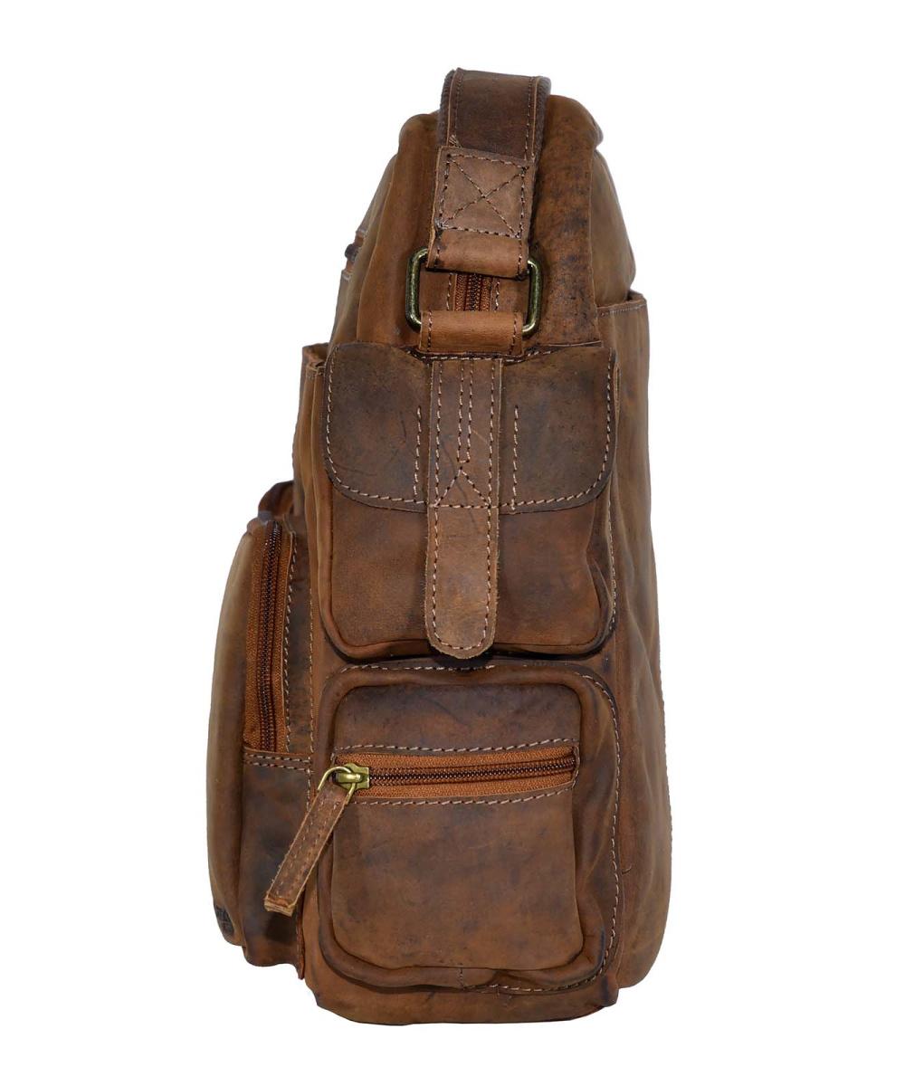 Montenegro Leder Multipocket Casual Bag Xl 179 95