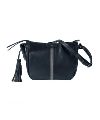 TOM TAILOR FLORI Damen-Umhängetasche 26x20x8 Black