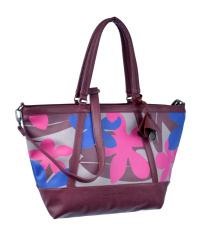 Fritzi-Madison-Bloom-Beach-Bag 39x29x15 cm Orchid