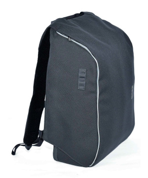 BREE Unisex- Backpack Punch Hoody1, Rucksack, Dark Grey 32x38x27 cm
