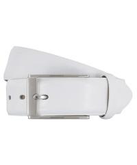 LLOYD-Herren-Ledergürtel 35 mm weiß