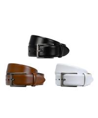 LLOYD-Herren-Ledergürtel 35 mm Dorn-Schließe