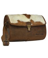 Greenland-NATUR- natural Combination Shoulder-Bag 28x16x22