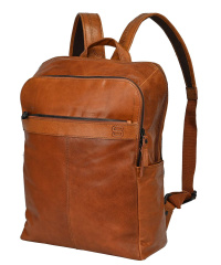 Spikes & Sparrow-Laptop-Backpack brandy 43x34x13