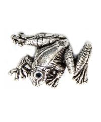 140018/ 4 cm Koppelschließe Frosch