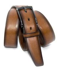 LLOYD-Herren-Gürtel 35 mm cognac
